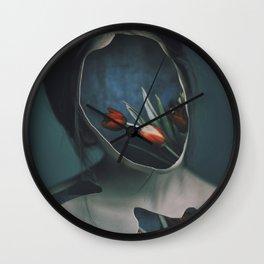 inner garden 4 Wall Clock