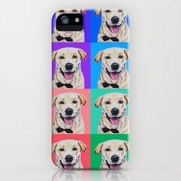 Maverick the Lab iPhone Case