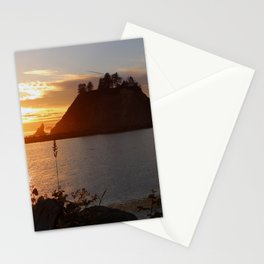 An Amazing Sunset Over First Beach Stationery Cards
