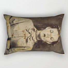 Man Bites God Rectangular Pillow