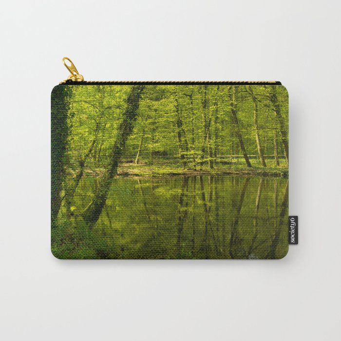 Forest lake pure relaxation for the Soul Carry-All Pouch