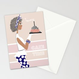 Cake Time Stationery Cards