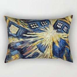 TARDIS EXPLODES Rectangular Pillow
