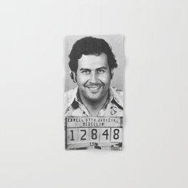 Pablo Escobar Mugshot Hand & Bath Towel