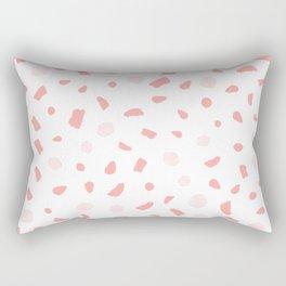 Blush terrazzo Rectangular Pillow