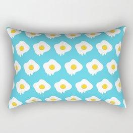 Fried Egg Dripping Rectangular Pillow