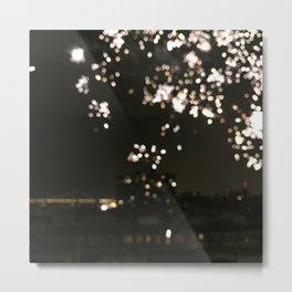 Harlem Fireworks 3 Metal Print