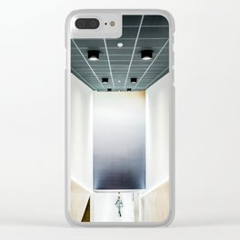 Schuman Clear iPhone Case