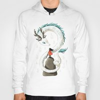 dragon Hoodies featuring Dragon Spirit by Freeminds