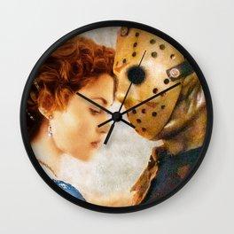 Jason Vorhees as Jack Dawson Wall Clock