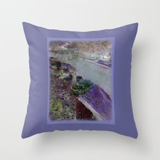 At the river Throw Pillow