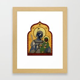 Patron Saint of Bounty Hunters... Framed Art Print