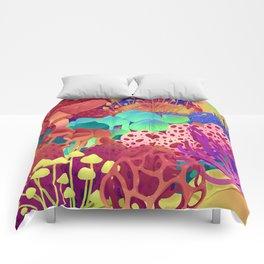 Shrooms Comforters