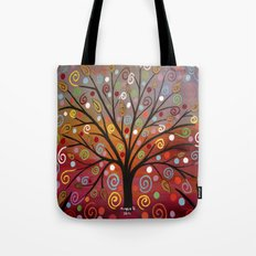 Abstract tree-10 Tote Bag