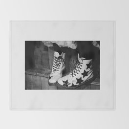 These Boots Were Made.... Throw Blanket