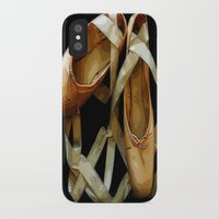 ballet iPhone & iPod Cases featuring Ballet by Müge Başak