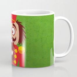 A Christmas nutcracker breaks its teeth and goes nuts Coffee Mug