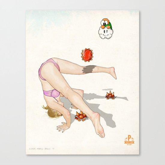 Super Mario Bros. No.1 Canvas Print