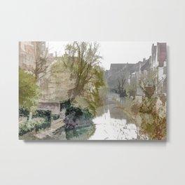 Brügge - Belgium Metal Print