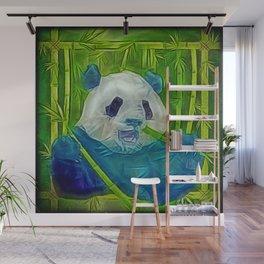 abstract panda Wall Mural