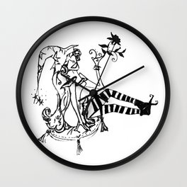Witchette Wall Clock