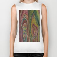 sublime Biker Tanks featuring Sublime Compatibility (Intimate Reciprocity) by Jodi Bee