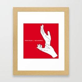 A Twin Peaks - The Antlers Homage Framed Art Print