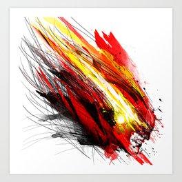 Speed & Velocity Art Print