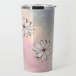 lily-white Travel Mug