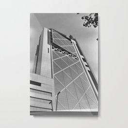 Edificio Telefónica Metal Print