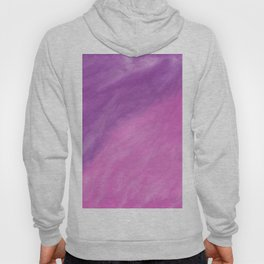 Abstract modern pink violet watercolor paint Hoody