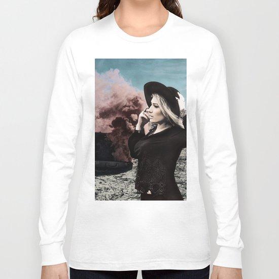 Burning Koffer Long Sleeve T-shirt