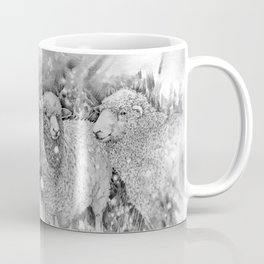Sun Spots on Sheep Coffee Mug