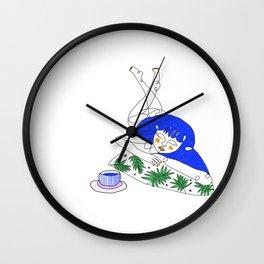 Lazy Sundays Wall Clock
