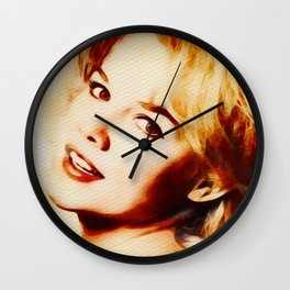 Carrol Baker, Hollywood Legend Wall Clock