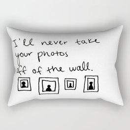 pictures of you Rectangular Pillow