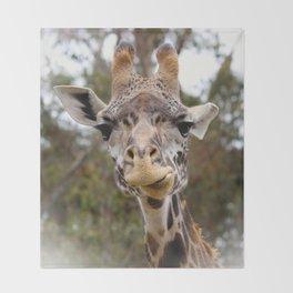 Masai Giraffee Throw Blanket