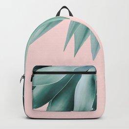 Agave fringe - blush Backpack