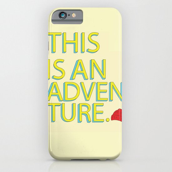 This Is An Adventure iPhone & iPod Case