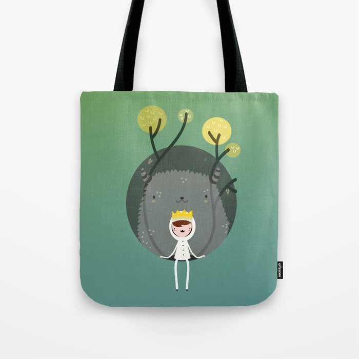 Where are the wild things? Tote Bag