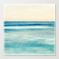 pastel Canvas Prints featuring pastel by Bonnie Jakobsen-Martin