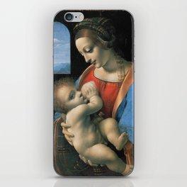 "Leonardo da Vinci ""Madona Litta"" iPhone Skin"