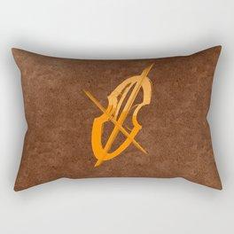 Cello Music Musician Fan Rectangular Pillow