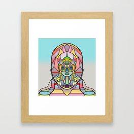 Crinkle Wall Framed Art Print