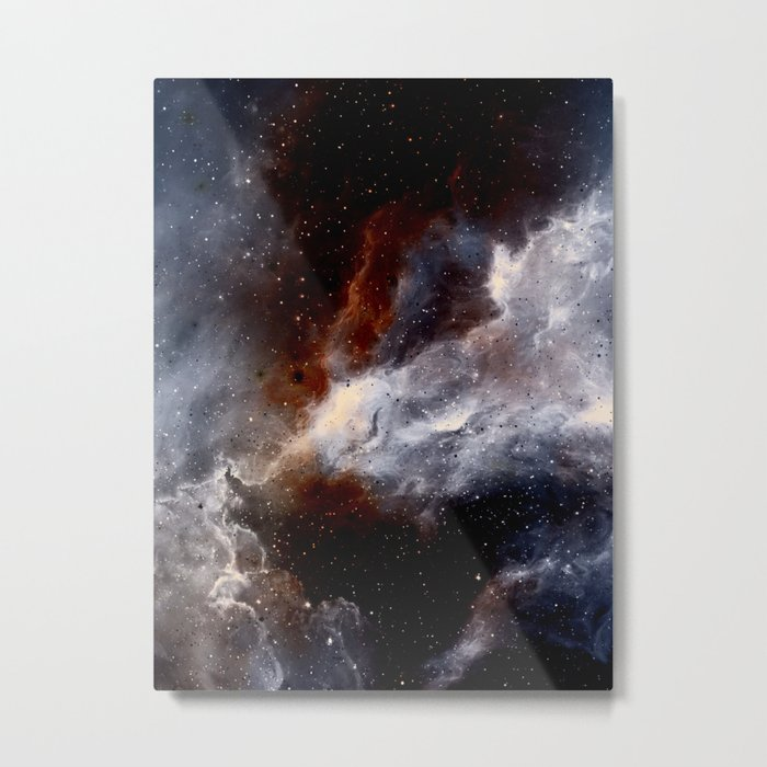 Dust, hydrogen, helium and other ionized gases Metal Print