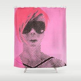 Gerald Laing Posto 10 Shower Curtain