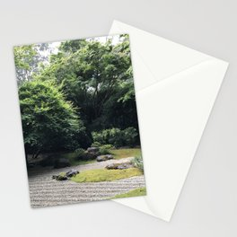 Zen Garden at the Japanese Tea Garden in San Francisco Stationery Cards
