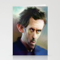 house md Stationery Cards featuring house md by robotrake