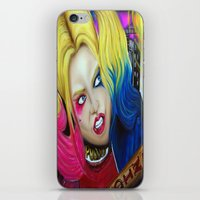 harley iPhone & iPod Skins featuring Harley by Kim Shady
