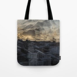 Deconstruction #11 Tote Bag